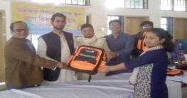 কচুয়ায় স্কুল ব্যাগ বিতরন
