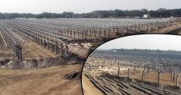 সৌরবিদ্যুৎ : দেশের সর্ববৃহৎ প্রকল্পের কাজ শেষের পথে