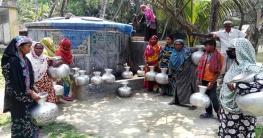 শরণখোলায় সুপেয় পানির তীব্র সংকট, উপজেলা জুড়ে হাহাকার