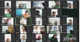 বাগেরহাটে ভার্চুয়াল বিতর্ক প্রতিযোগিতার ফাইনালে মোংলা দল
