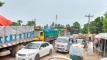 তীব্র স্রোতে ফেরি চলাচল ব্যাহত, অপেক্ষায় সাড়ে আট শতাধিক যানবাহন