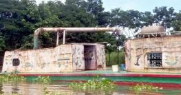 চিতলমারীতে অবৈধ ভাবে বালু উত্তোলন